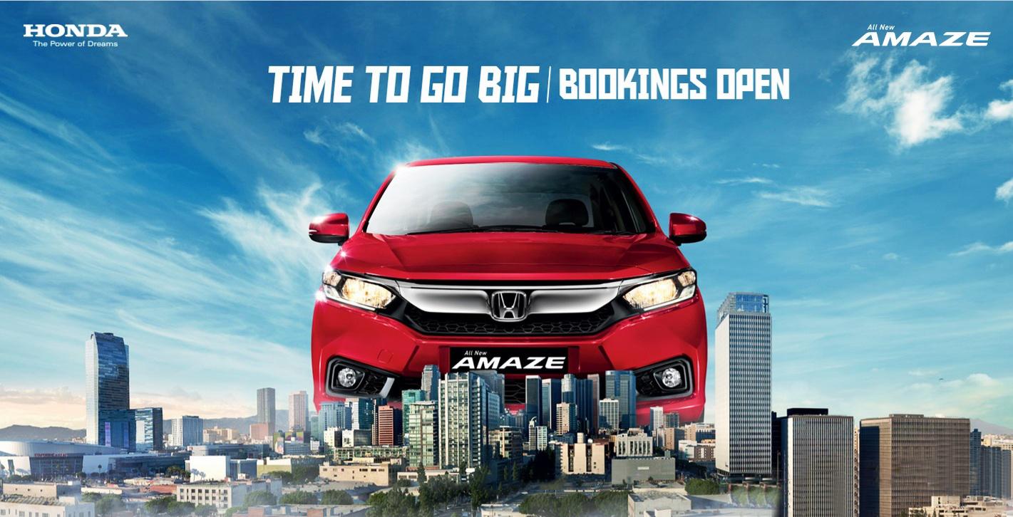 Honda All New Amaze Car Dealer Of Pune Aurangabad Maharashtra India