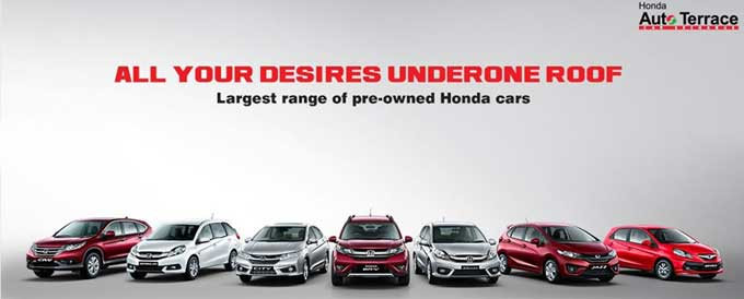 Welcome To Auto Terrace Hondas One Stop Facility For Exchange And Pre Owned Car PurchaseAutoTerrace Helps You Your Existing A Brand New
